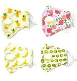 Fleurish Home Kids Fashion Mask with Vent & Filter Pocket (various)