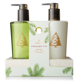 Thymes Frasier Fir Sink Set with Ceramic Caddy