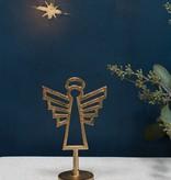 Fleurish Home Geo Angel Figurine