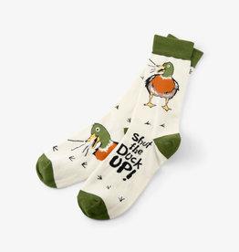 Hatley Shut the Duck up Men's Crew Socks