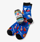 Hatley Licence To Grill Men's Beer Can Socks