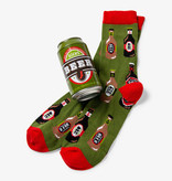 Hatley Beer Bottles Men's Beer Can Socks