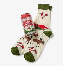 Hatley Hoppy Camper Men's Beer Can Socks