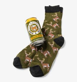 Hatley Buck A Beer Men's Beer Can Socks