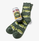 Hatley Nice Bass Men's Beer Can Socks
