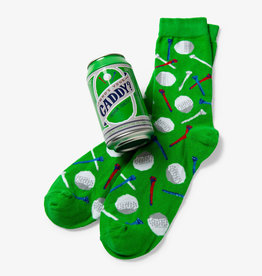 Hatley Who's Your Caddy Men's Beer Can Socks