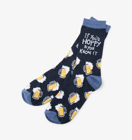 Hatley If You're Hoppy And You Know It Men's Crew Socks