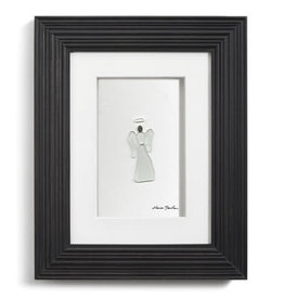 Sharon Nowlan Holiday Angel Pebble Wall Art