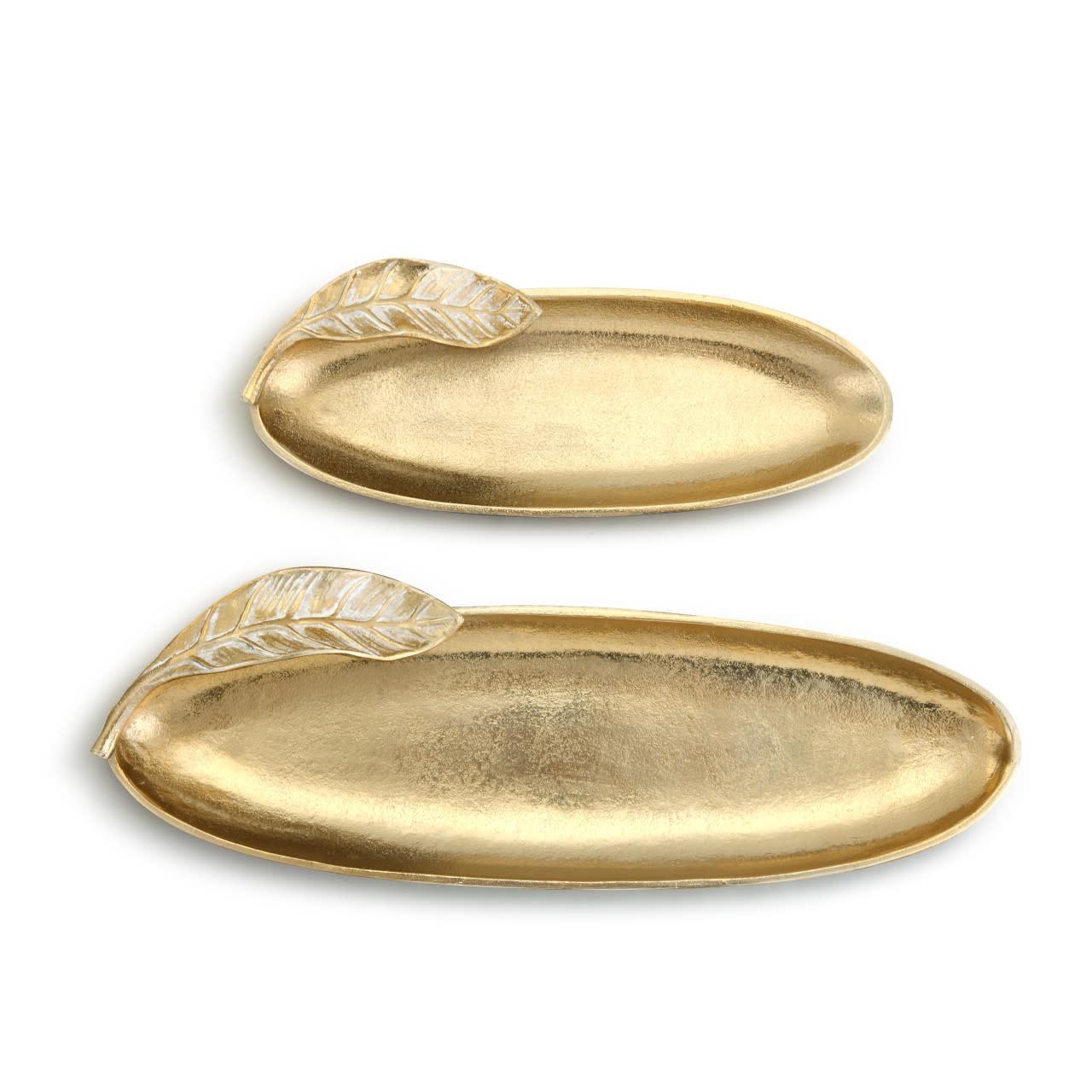 Lori Seibert Gold Leaf Tray