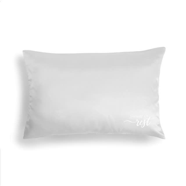 Fleurish Home Cream Satin Pillow Case - Invest in Rest