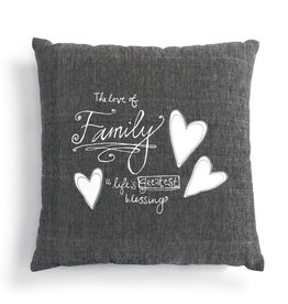 Lori Seibert Love of Family Pillow