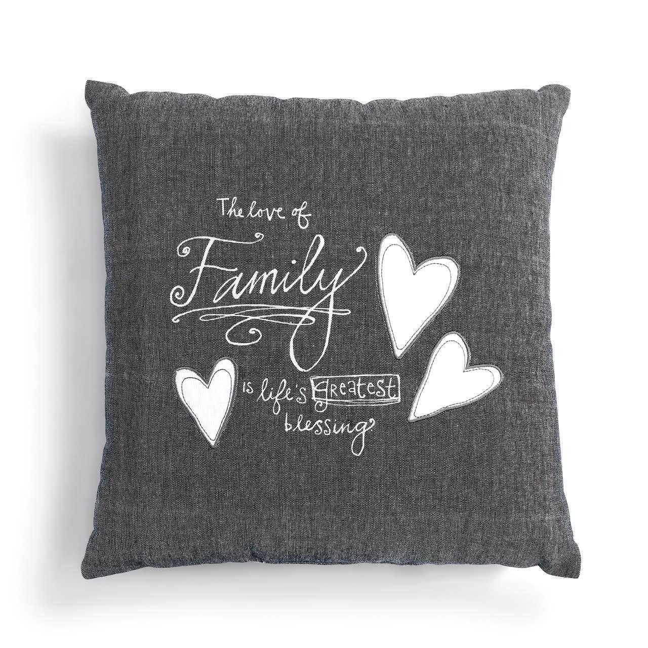Lori Seibert Love of Family Pillow