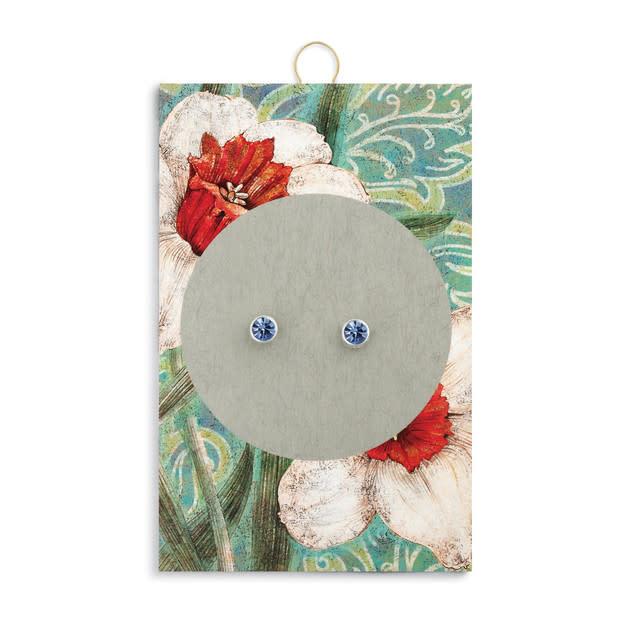 Fleurish Home Simply Birthstone Earrings - December