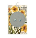 Fleurish Home Simply Birthstone Earrings - March