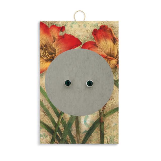 Fleurish Home Simply Birthstone Earrings - May