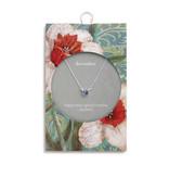 Fleurish Home Simply Birthstone Necklace-December/Light Sapphire