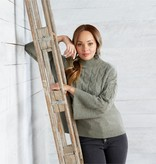 Mudpie Eve Cable Knit Sweater *last chance