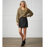 Mudpie Fitz Button Front Skirt *last chance