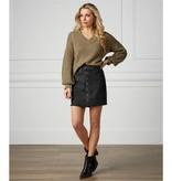 Mudpie Fitz Button Front Skirt