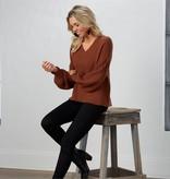 Mudpie Ingrid V-Neck Sweater
