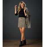 Mudpie Stevie Leopard Skirt