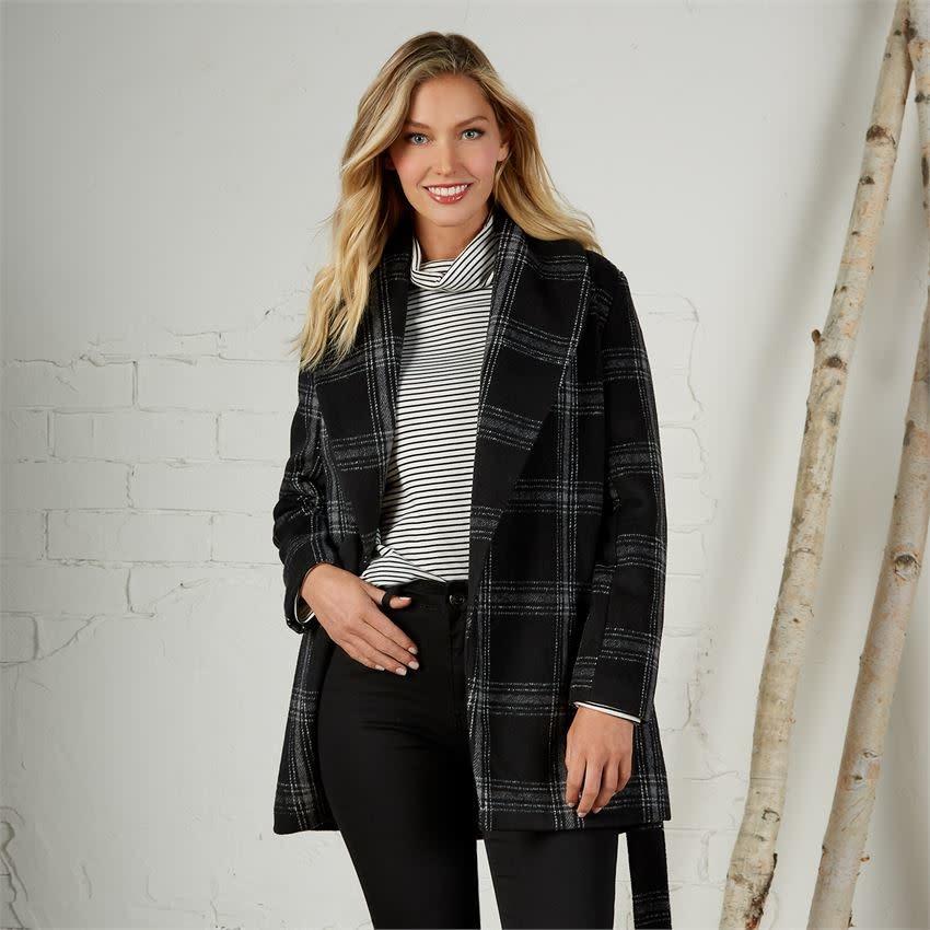 Mudpie Winchester Plaid Coat