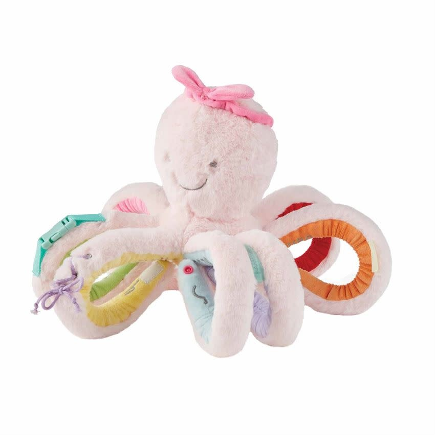 Mudpie PINK OCTIVITY PAL PLUSH