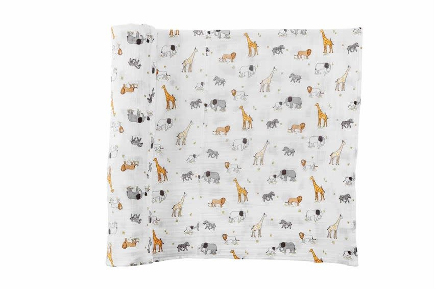 Mudpie SAFARI MUSLIN SWADDLE
