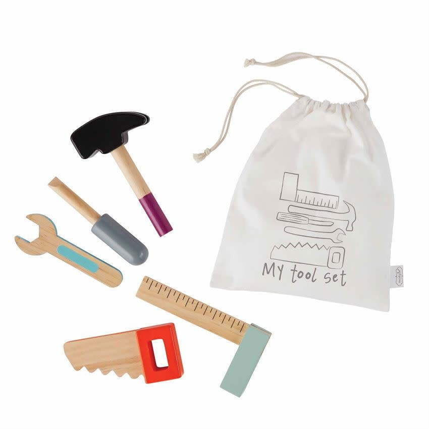 Mudpie TOOL WOOD TOY PLAY SET