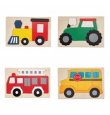 Mudpie BUS TRANSPORTATION PUZZLE