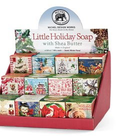 Michel Design Works Holiday Cheer Little Soap (various package designs-one fragrance)