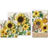 Michel Design Works Sunflower Cocktail Napkin