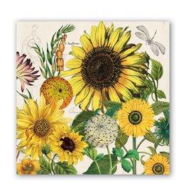 Michel Design Works Sunflower Luncheon Napkin