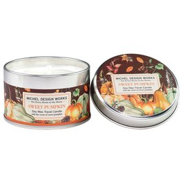 Michel Design Works Sweet Pumpkin Travel Candle