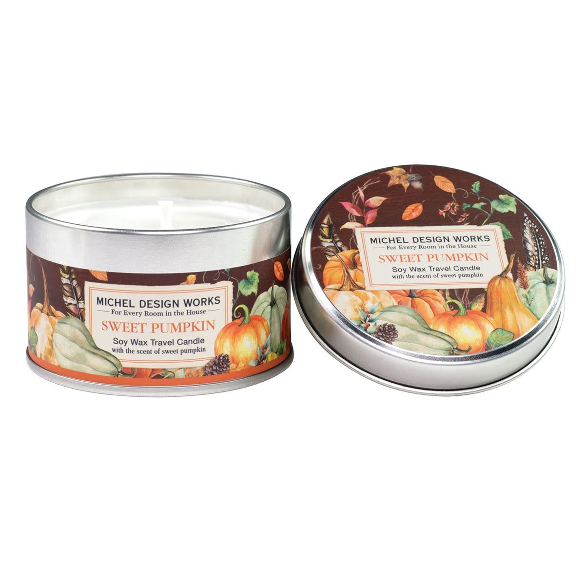Michel Design Works Sweet Pumpkin Travel Candle *final few