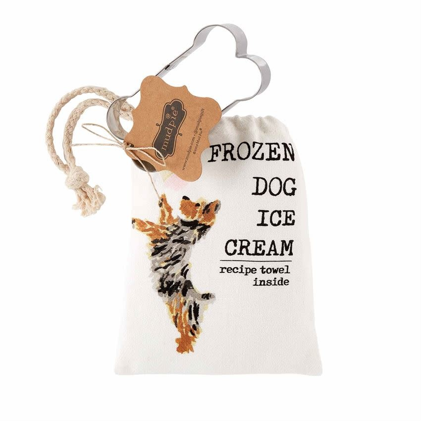 Mudpie ICE CREAM PET TOWEL CUTTER SET *last chance