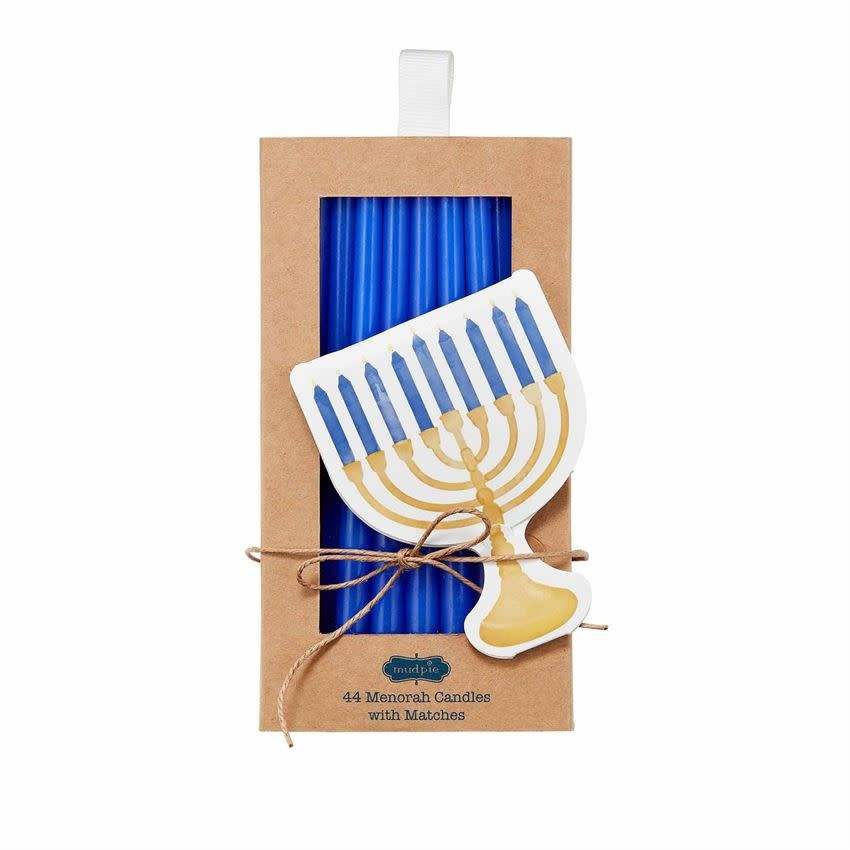 Mudpie MENORAH CANDLES AND MATCHES *last chance