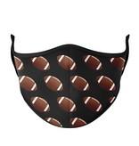 Top Trenz Football Fashion Mask w Filter Pocket 8+ (Tween/Adult Size)