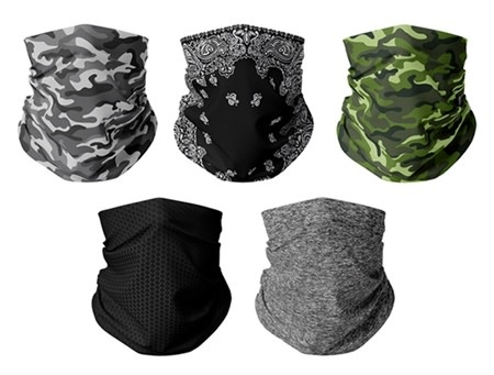 Fleurish Home Adult Large Fashion Gaiter Mask (various styles available)