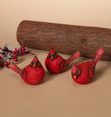 Fleurish Home Red Cardinal Bird (choice of 3 styles)