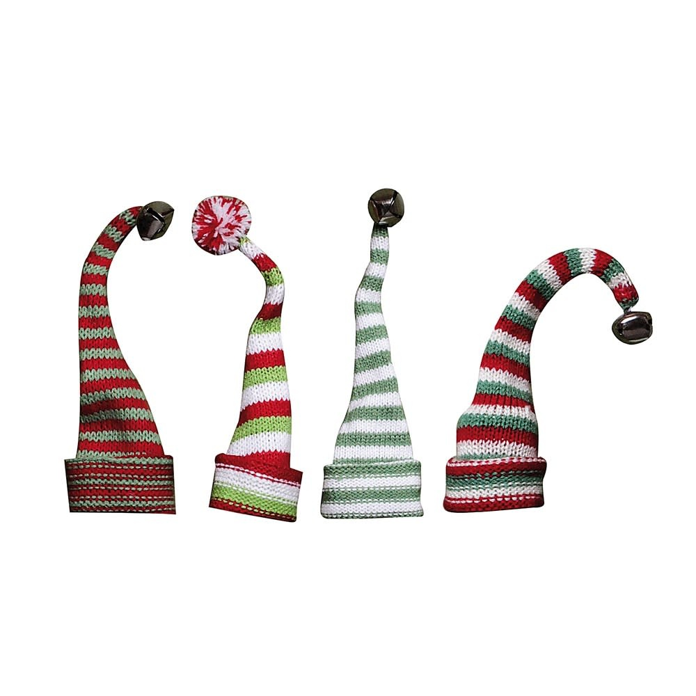 Fleurish Home Knit Hat Wine Bottle Topper (choice of 4 styles)