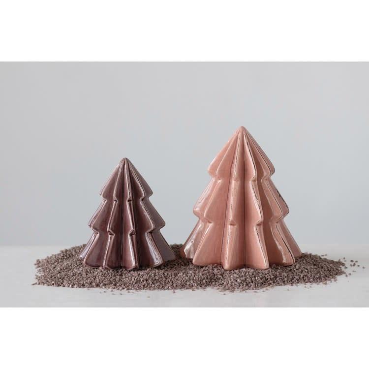 Fleurish Home Plum Crackle Glaze Tree