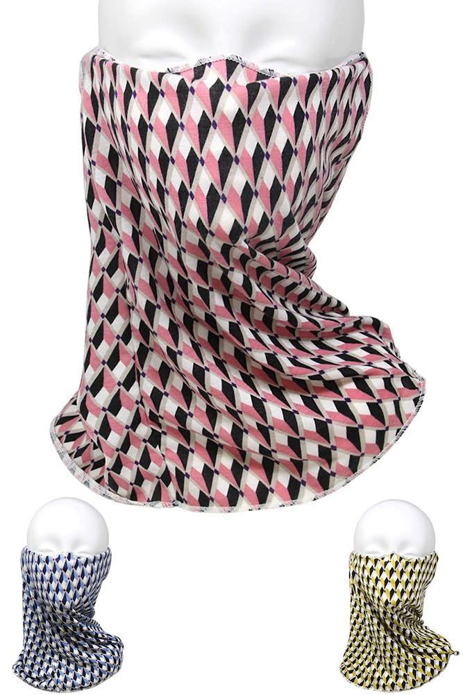 Fleurish Home Geometric Print Fashion Tube Mask