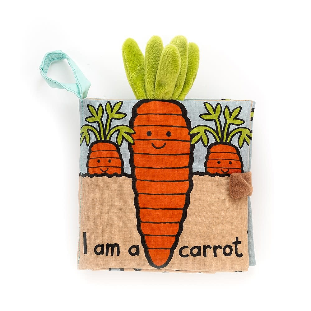 Jellycat I am a Carrot Book