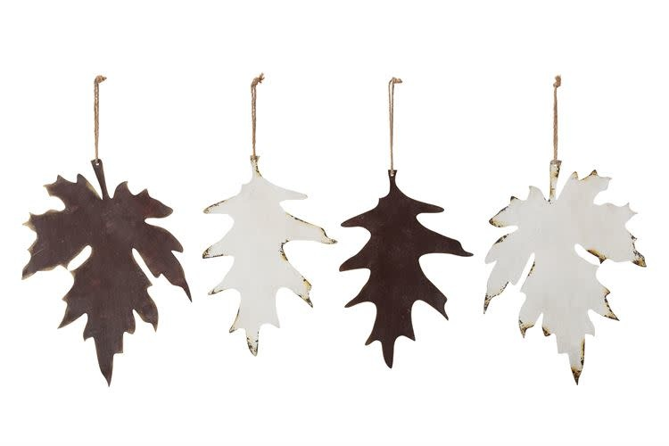 Fleurish Home Large Hanging Metal Leaf (various)