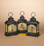 Fleurish Home Lg Rect Lighted Spinning Water Globe Halloween w/Timer (choice of 3 styles)Asst