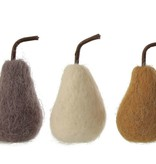 Fleurish Home Sm Wool Felt Pear (choice of 3 colors)