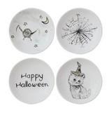 Fleurish Home Halloween Round Stoneware Dish (4 designs)