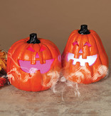 Fleurish Home Electric Lighted Pumpkin w/ Smoking Effect (choice of 2 styles)