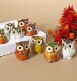 Fleurish Home Sm Ceramic Owl (choice of 4 styles)